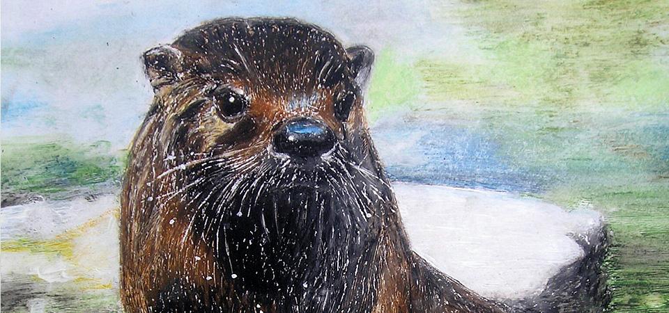 Krafttier Otter