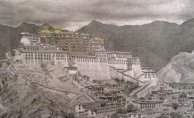 Lhasa Tibet, Potala Palast